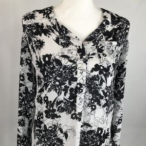 Candies XS Black and White Blouse